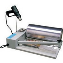 Shrink A Pack manual shrink wrapping system